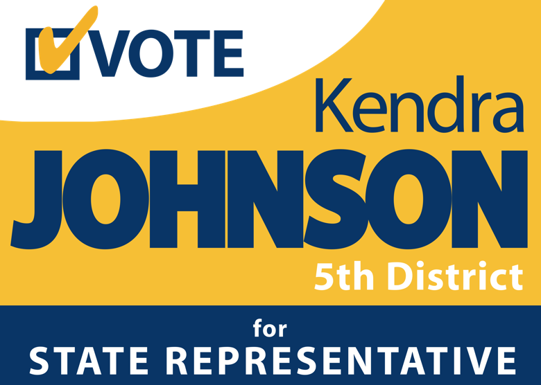 Democrat Kendra Johnson for State Representative | 5th District