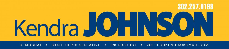Democrat Kendra Johnson for State Representative | 5th District